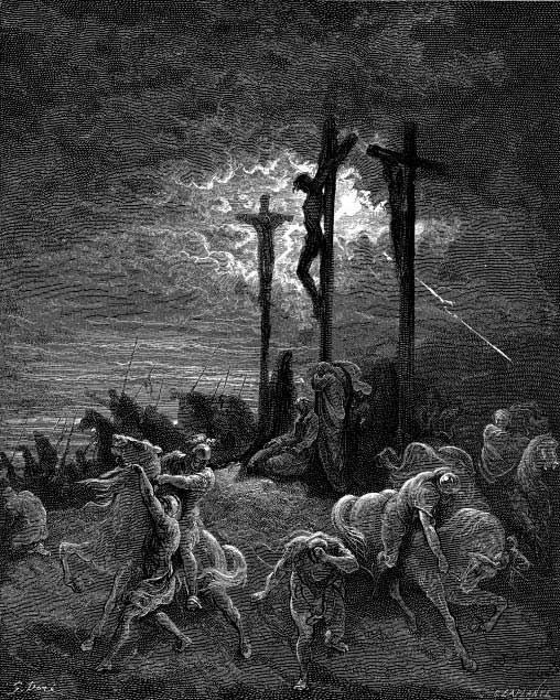 耶稣受难时黑暗笼罩