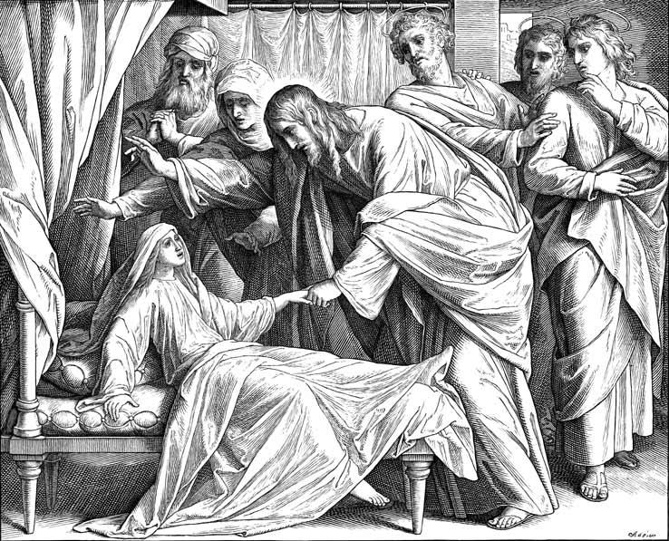 耶稣复活雅依洛之女