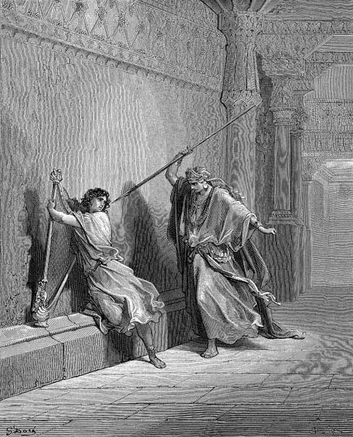 Saul Attempts The Life Of David