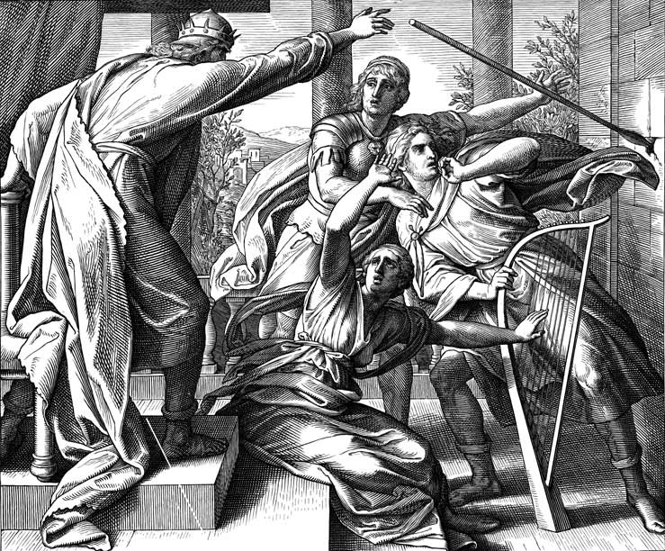 Saul Tries To Kill David