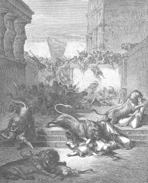The Strange Nations Slain By Lions Of Samaria