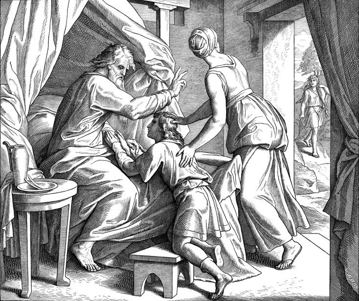 Isaac Blesses Jacob