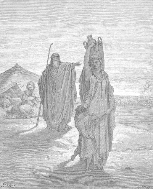 The Expulsion Of Ismael And His Mother