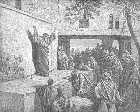 Micheas Exhorting Israelites To Repentence